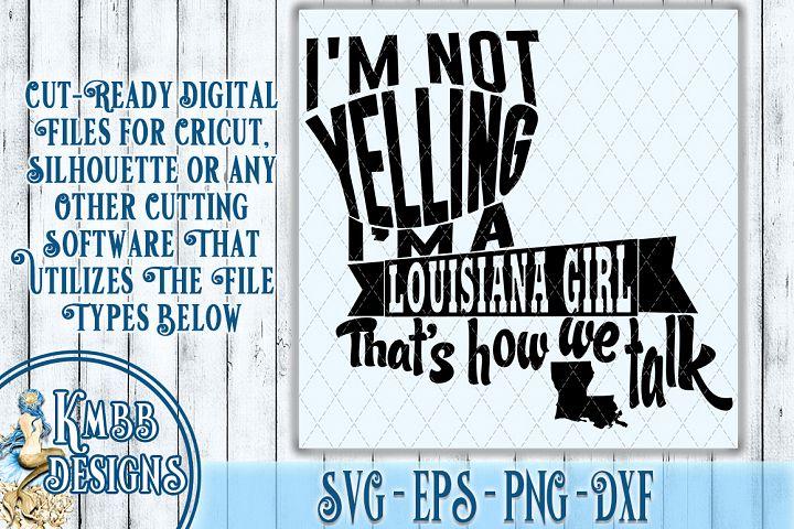 Louisiana SVG - SVG EPS PNG DXF Cricut Silhouette