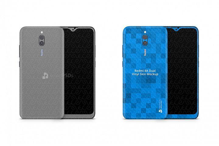 Redmi 8A Dual 2020 PSD Skin Mockup Template