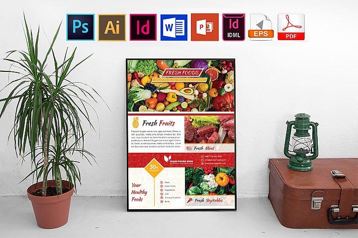Poster | Fresh Food Shop Vol-01