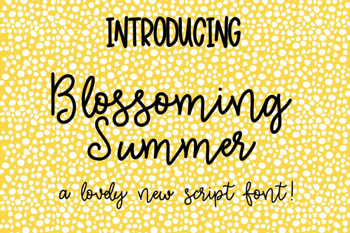 Blossoming Summer