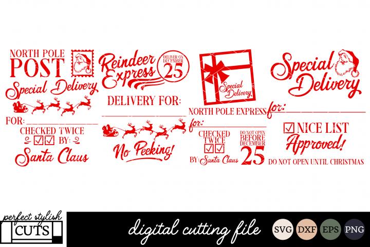 Santa Sack SVG Bundle - Christmas SVG Files