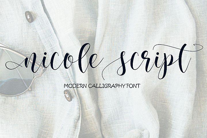 nicole script