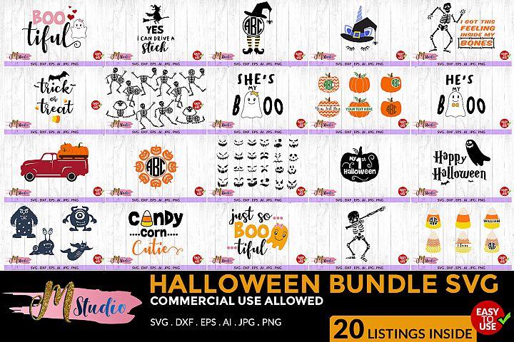 Halloween Bundle SVG, for Silhouette Cameo or Cricut