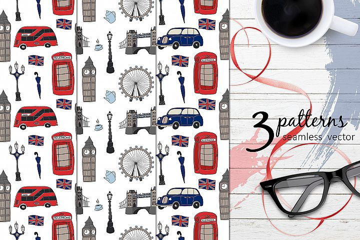 Set of patterns London EPS