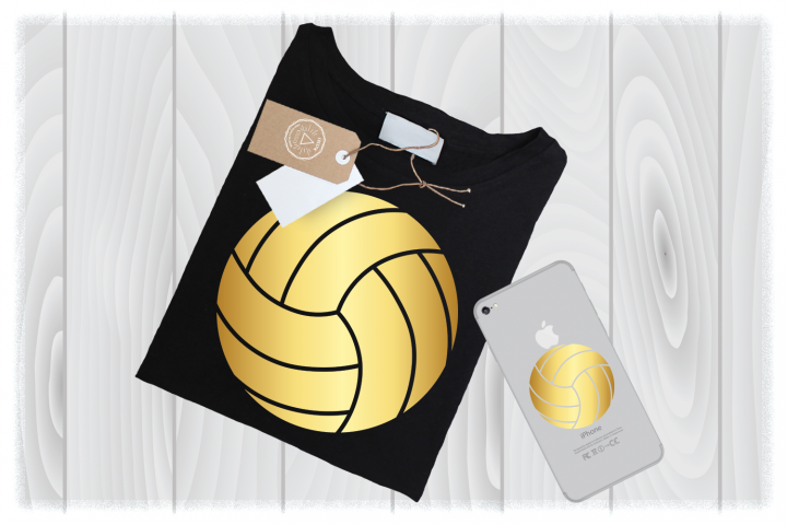 Volleyball Silhouette SVG Files for Cricut Mom Sports Design
