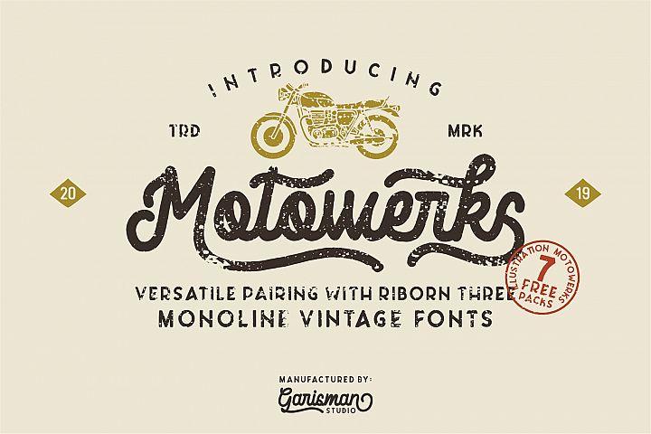 Motowerks Vintage Script
