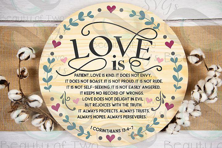 Farmhouse Christian Valentines svg, Corinthians 13 svg, love