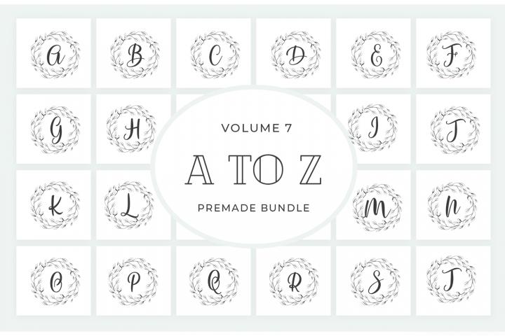 Vol.7 Alphabets Logo Templates