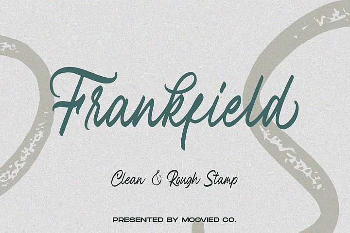 Frankfield Font example image 1