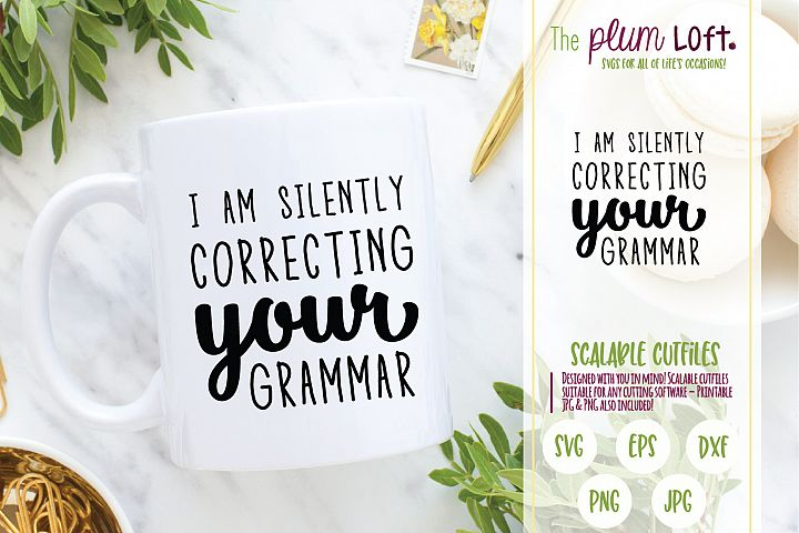 I am silently correcting your grammar - SVG Design