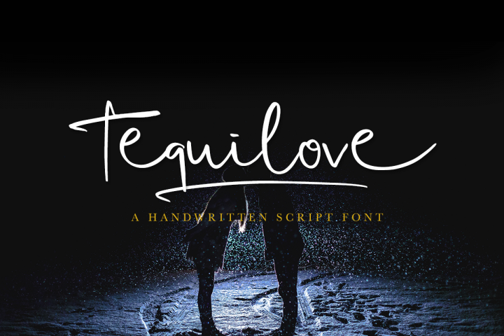 Tequilove - Free Font of The Week