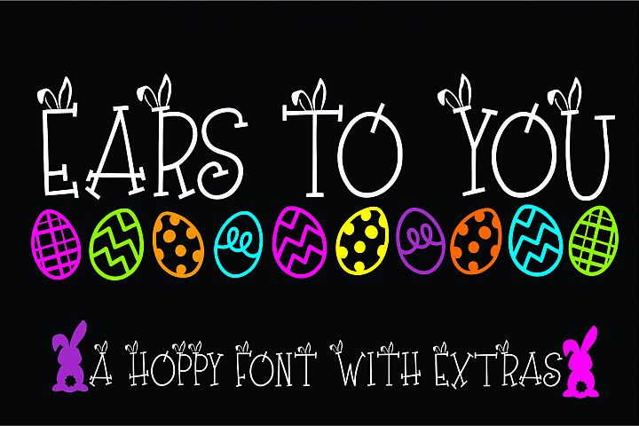 Ears to You Bunny Font