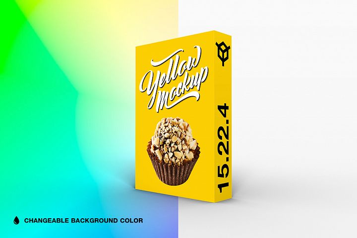 15.22.4 Simple 3D Box Mockup PSD