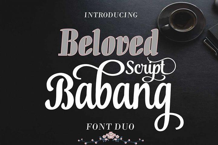 Beloved Babang Script