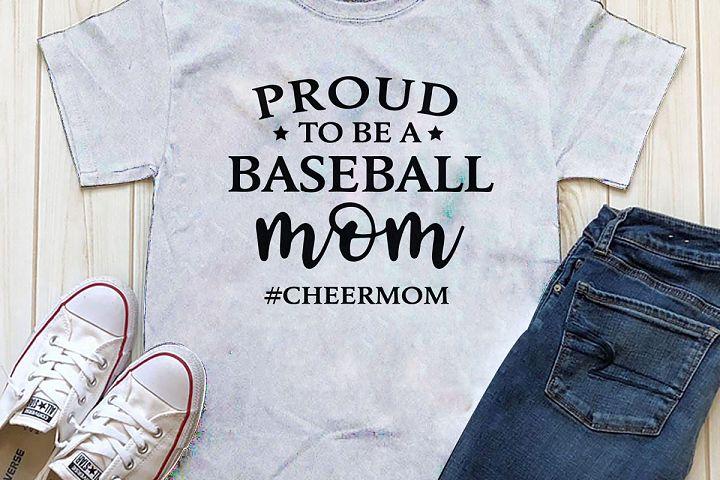 Proud to be Baseball Mom Printable