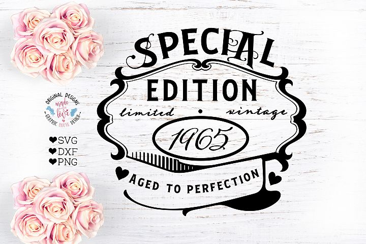 Special Limited Edition Cut File - Birthday SVG