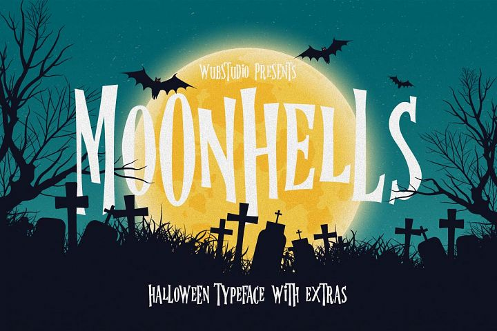Moonhells Typeface