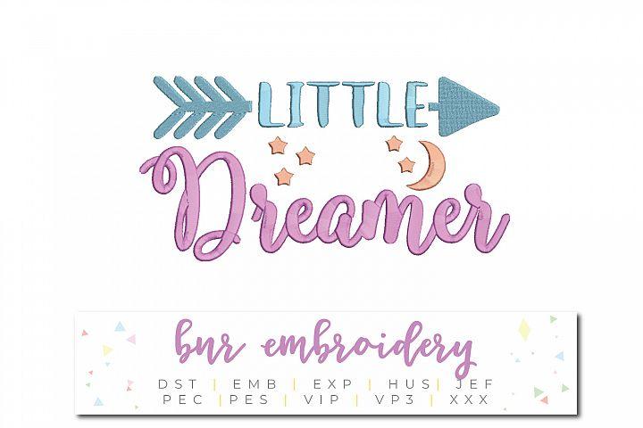 Little Dreamer Machine Embroidery Design