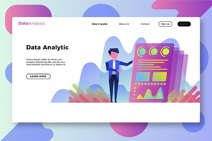 Data Analysis - Banner &Landing Page