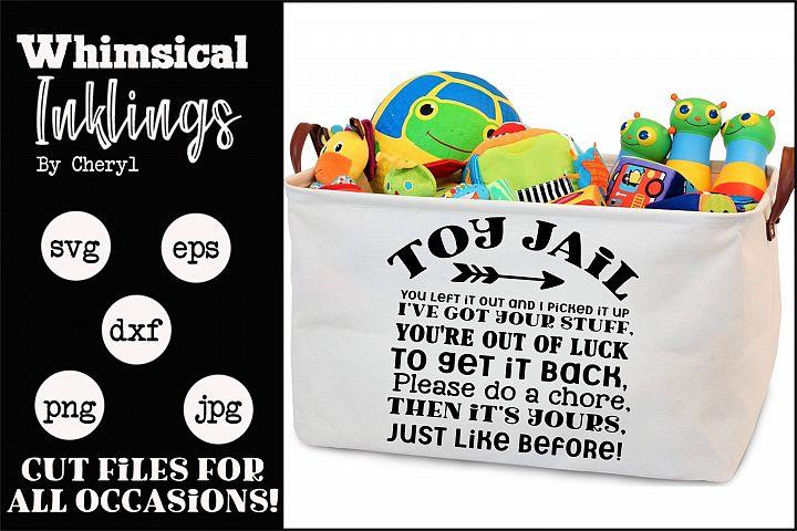 Toy Jail SVG