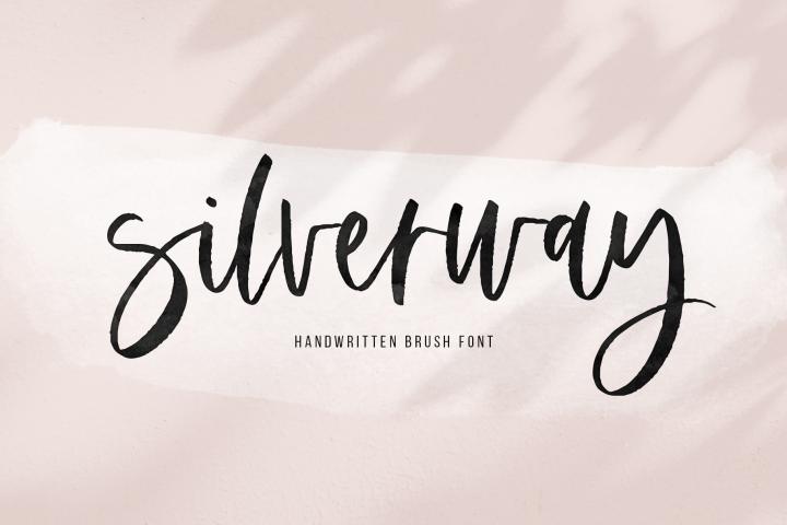 Silverway - A Modern Handwritten Script Font