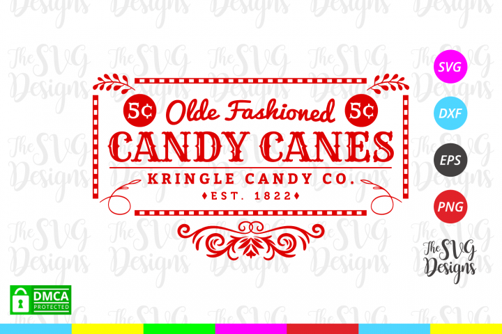 Candy Cane Company Svg - Christmas- Svg Files