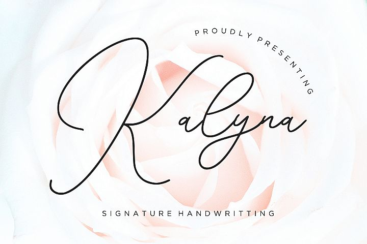 Kalyna Signature Handwriting