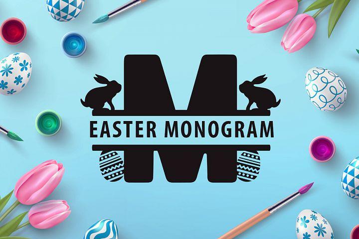 Easter Monogram