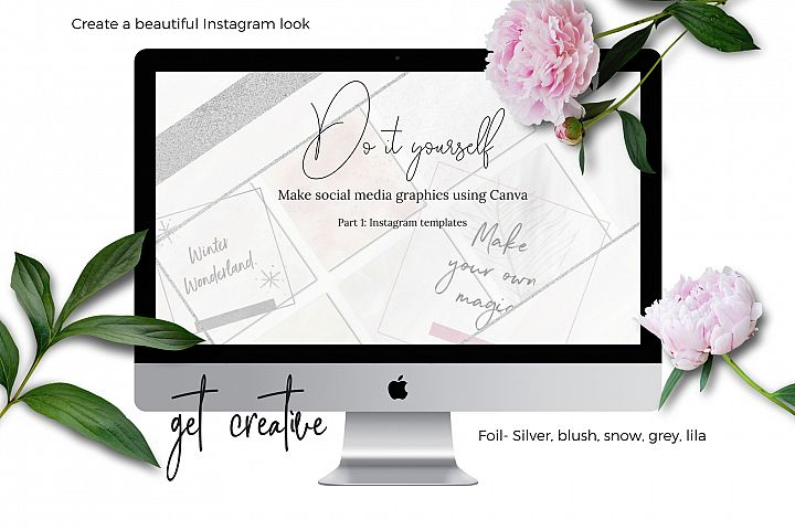 DIY Instagram graphics using Canva