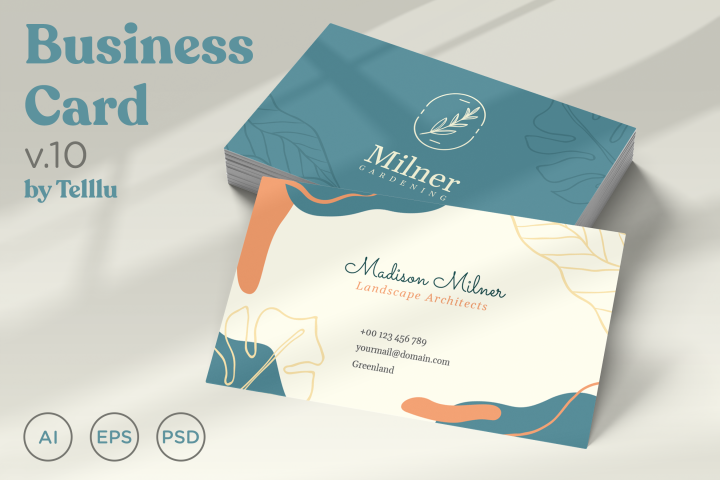 Business Card Template v10