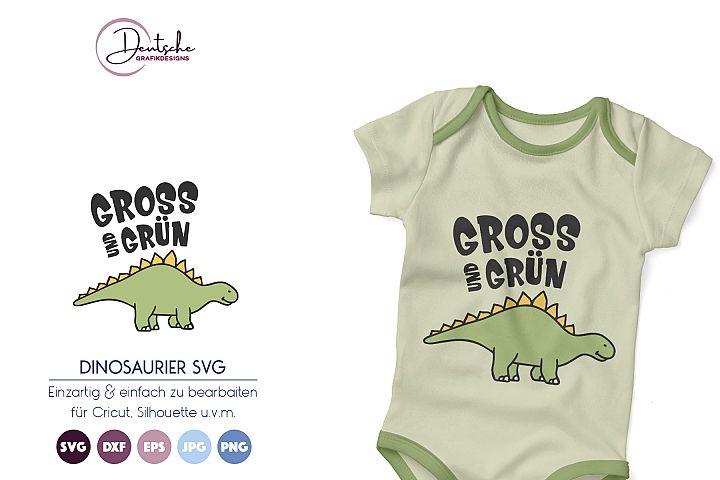 Gros und Grün SVG| Dinosaurier SVG