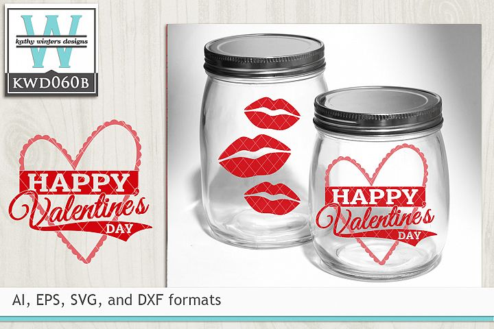 Valentines SVG - Happy Valentines Day