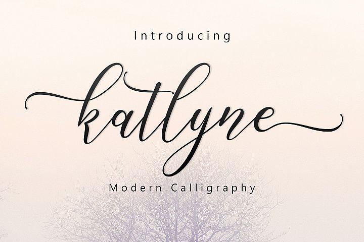 Katlyne Script