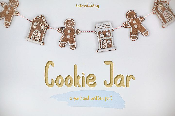 Cookie Jar font