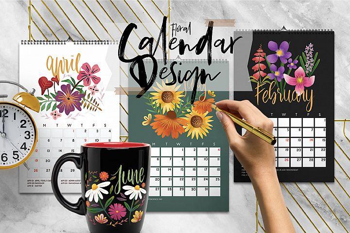 Floral Design Calendar