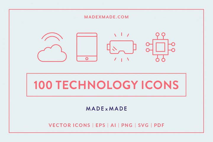 Line Icons - Technology