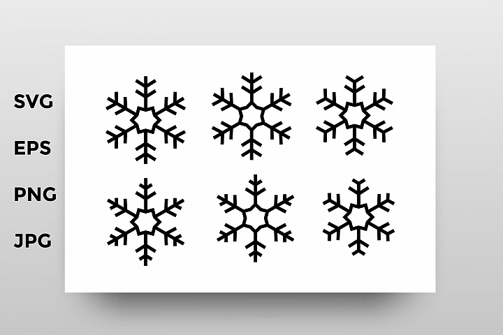 Snowflakes bundle