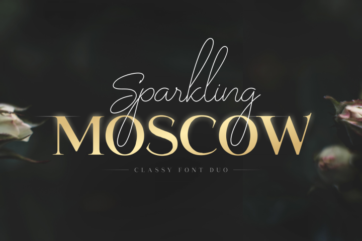 Sparkling Moscow - Font Duo