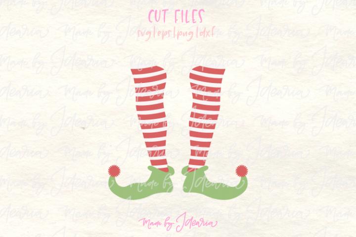 Elf svg, svg elf, elf monogram, monogram elf svg, christmas
