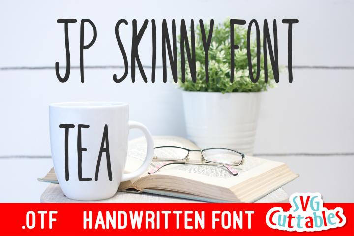 JP Skinny Font