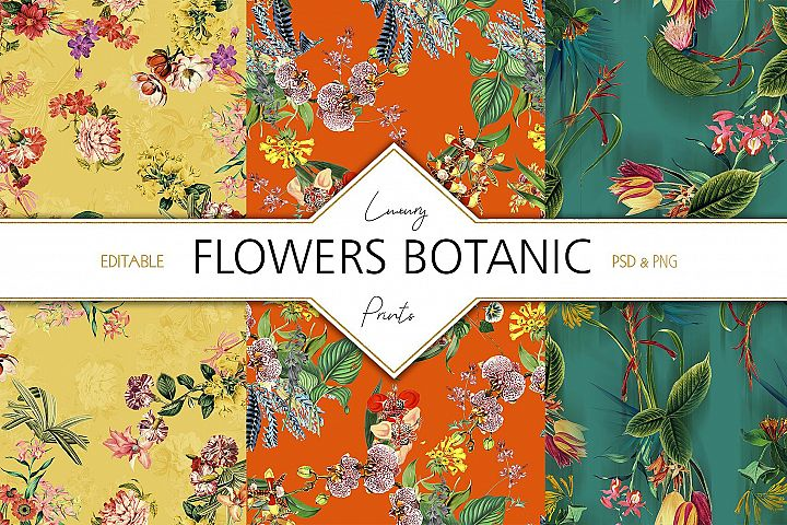 Flowers Botanic V.1