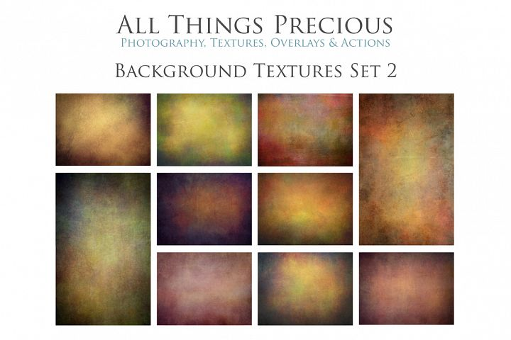 10 Fine Art BACKGROUND Textures SET 2