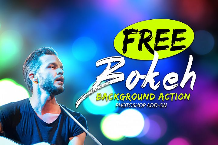 Free Bokeh Photoshop Action example 3