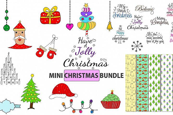 Christmas bundle / christmas svg bundle / Christmas element / Christmas digital paper / ornaments / Christmas svg quote / Christmas element / clipart