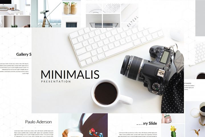 Minimalis Multipurpose Keynote