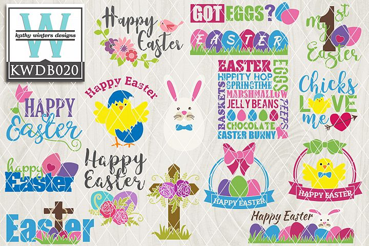 Easter SVG - Easter Bundle KWDB020