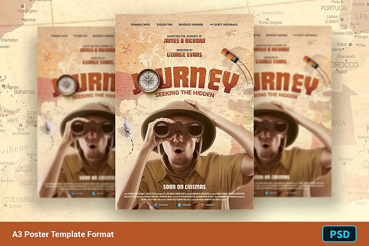 Movie Poster Template JOURNEY