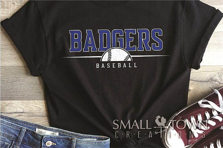Badger, Badger Baseball Team, Sport, PRINT, CUT & DESIGN