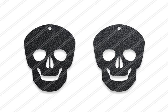 Skull earrings svg,Skull svg,Jewelry svg,Cricut silhouette