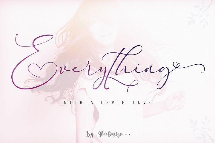 Everything Calligraphy - a Lovely Font